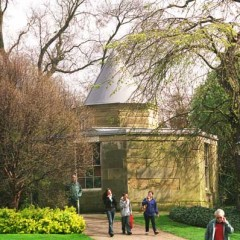 The York Observatory in the Museum Gardens