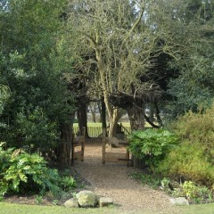 Storytelling area in the York Museum Gardens
