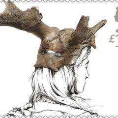 Star Carr headdress stamp.