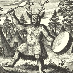 Drawing of a Tungu Shaman
