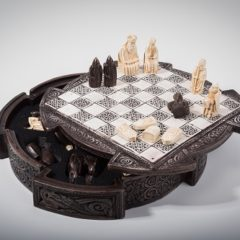 A themed chess set