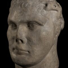 Side view of Bust of Constantine the Great
